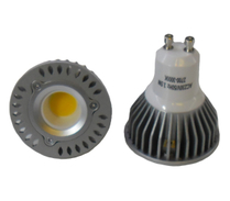 LED Spotlight COB 3,5W GU10 Varmvit