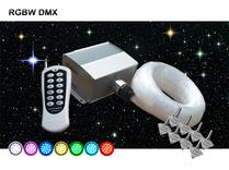 Stjärnhimmelpaket 12W DMX RGBW  5kvm